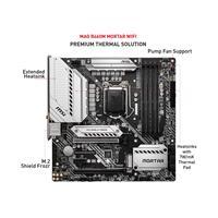 MSI MAG B460M MORTAR WIFI B460 LGA 1200 (Intel® 10th Gen) Micro ATX Gaming Motherboard (5+1+1 Duet Rail power), 4 DIMM DDR4 2933, 2.5G LAN, WiFi 6, Bluetooth 5.1, RAID, Front Type C, Mystic Light (JRGB)