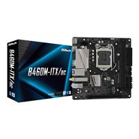 ASRock B460M-ITX/AC Intel LGA1200 10th Gen, DDR4 2933+ (OC), PCIe 3.0x16, HDMI, DisplayPort, Intel 802.11ac WiFi + BT 4.2, Ultra M.2, 6 USB 3.2 Gen1, GLAN, ITX Motherboard