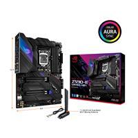 ASUS ROG Strix Z590-E Gaming WiFi 6E LGA 1200(Intel 11th/10th Gen) ATX gaming motherboard (PCIe 4.0, 14+2 power stages, DDR4 5333+, Dual Intel® 2.5 Gb LAN, Bluetooth v5.2,Thunderbolt 4, 4xM.2/NVMe SSD and AURA RGB lighting)