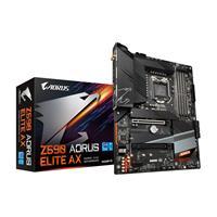 GIGABYTE Z590 AORUS ELITE AX LGA 1200 10th/11th Gen DDR4 Dual channel ATX Motherboard Direct 12+1 Phases Power, 3x M.2, Wi-Fi 6 AX201, USB Type-C