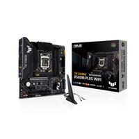 ASUS TUF GAMING B560M-PLUS WIFI  LGA1200 (Intel 11th/10th Gen) Micro ATX gaming motherboard, DDR4 5000 MHz ( PCIe 4.0, 2x M.2 slots, 8+1 Power stages, 2.5Gb LAN, WiFi 6, DP 1.4, HDMI 2.0, USB 3.2 Gen 2, USB 3.2 Gen 1 Type-C®, Thunderbolt™ 4 support, Aura Sync RGB Lighting)