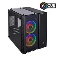 Corsair Crystal Series 280X RGB Micro-ATX Case, Black (CC-9011135-WW)