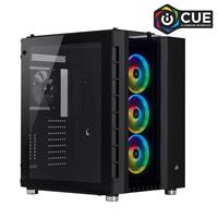 Corsair Crystal Series 680X RGB High Airflow Tempered Glass ATX Smart Case, Black