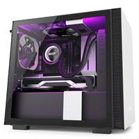 NZXT H210i Mini-ITX Case - Matte White/Black