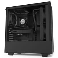 NZXT H510 Compact Mid-Tower ATX Case - Matte Black/Black