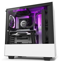 NZXT H510i COMPACT MID-TOWER ATX CASE - Matte White/Black