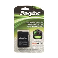 Energizer Digital Replacement Battery for Nikon EN-EL14 | Compatible with Nikon D3100, D5100, D3200, D5200, P7000, P7100