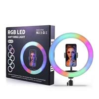 iCAN RGB LED Ring Light for Live Stream / Vlog and Studio