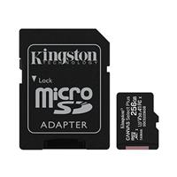 Kingston Canvas Select Plus microSDXC 256GB Class 10 UHS-I Up to 100MB/s Read (SDCS2/256GBCR)