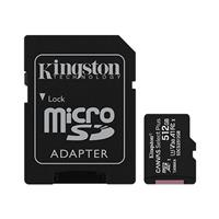 Kingston Canvas Select Plus microSDXC 512GB Class 10 UHS-I Up to 100MB/s Read (SDCS2/512GBCR)