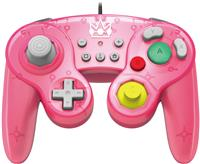 HORI GameCube Style Battle Pad Controller for Nintendo Switch - Peach