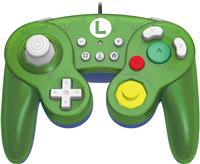 HORI GameCube Style Battle Pad Controller for Nintendo Switch - Luigi