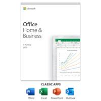 MICROSOFT Office Home & Business 2019 | One-time purchase, 1 person | PC/Mac Keycard - English - Medialess (T5D-03341)
