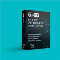 ESET NOD32 Antivirus Gamer Edition - 1 Year 1 Device - Designed for Gamers: maximum performance and minimal interference