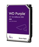 """WD Purple™ Surveillance Hard Drive 4TB 3.5"""" SATA 6Gb/s 64 MB Cache 5400 RPM (WD40PURZ)"""