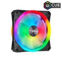 CORSAIR iCUE QL Series, QL120 RGB, 120mm RGB LED Fan, Single Pack