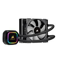 CORSAIR iCUE H60i RGB PRO XT, 120mm Radiator, Single 120mm PWM Fan, Software Control, Liquid CPU Cooler