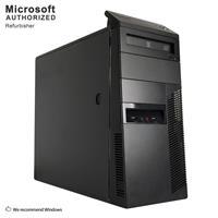 Image of Lenovo M92P Refurbished Desktop, i5-3570, 8GB, 120GB + 2TB, Win10 Pro