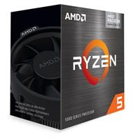 AMD Ryzen 5 5600G 6-Core/12-Thread 7nm Processor | Socket AM4 3.9GHz/ 4.4GHz Radeon Graphics Wraith Stealth Cooler, 65W (100-100000252BOX)