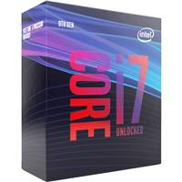 Intel Core i7-9700K Coffee Lake 8-Core/8-Thread Processor   Socket LGA 1151, 3.6 GHz Base/ 4.9 GHz Max Turbo Frequency   95W Gen9 Retail Boxed Unlocked (BX80684I79700K)    (Compatible with 300 series chipset motherboard Only)