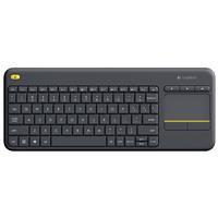 Logitech K400 Plus Wireless Touch Keyboard TV - Black (920-007119)