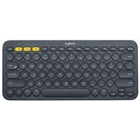 Logitech K380 Multi-Device Bluetooth Keyboard - Grey (920-007558)
