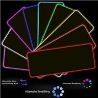 iCAN RGB Gaming Mouse Pad | Extra Large 800x300x4mm | Perfect for Gaming | 12 Lighting Modes