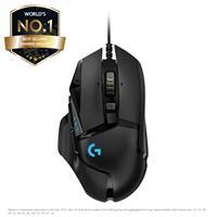 Logitech G502 HERO High Performance Optical Gaming Mouse – Black (910-005469)