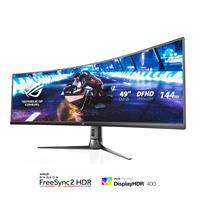 ASUS ROG Strix XG49VQ | 49 inch 3840×1080 144Hz | FreeSync 2 HDR UltraWide Curved Gaming Monitor (90LM04H0-B011B0)