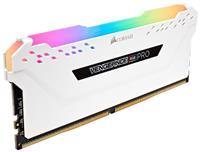 Corsair Vengeance RGB PRO 16GB (2x8GB) DDR4 3000MHz CL15 DIMM White 1.35V (CMW16GX4M2C3000C15W)