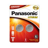 PANASONIC 2025 3V Lithium Coin Cell Battery 2 Pack (CR2025PA2BL)
