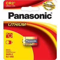 PANASONIC CR2 3V Lithium Battery 1 Pack (CR2PA1B)