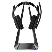 Blue Solids Technology -  RGB Lighting Gaming Headset Stand, Black