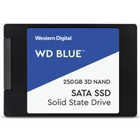 WD Blue™ 3D NAND SATAIII SSD, 250GB Read: 550MB/s; Write: 525MB/s (WDS250G2B0A)