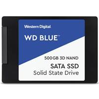 WD Blue™ 3D NAND SATA  SSD, 500GB Read: 560MB/s; Write: 530MB/s (WDS500G2B0A )