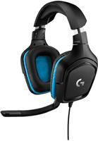 Logitech G432 7.1 Surround Sound Wired Gaming Headset (981-000769 )    50mm drivers , DTS Headphone: X 2.0 surround sound