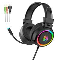YORO V5 RGB Gaming Headset | Support PS4