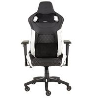 Image of CORSAIR T1 RACE 2018 Gaming Chair — Black/White