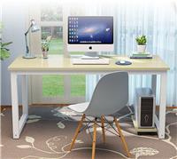 iCAN Modern Office Desk, 140*60*75cm, 25mm Wood Top, Maple