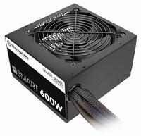 Thermaltake Smart White 600W 80 PLUS Certified Power Supply (PS-SPD-0600NPCWUS-W)