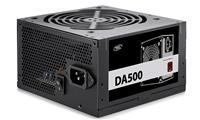 DEEPCOOL DA500 80 Plus Bronze Certified 500W Power Supply | 120mm PWM Silent Fan