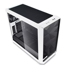 Fractal Design Meshify S2 White ATX Modular High-Airflow Tempered Glass Window Mid Tower Computer Case FD-CA-MESH-S2-WT-TGC