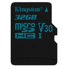 Kingston Canvas Go! microSDHC 32GB(class 10, UHS-I U3)