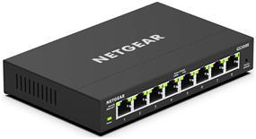 Netgear GS308E-100NAS) Ethernet Switch - 8 Ports - Manageable
