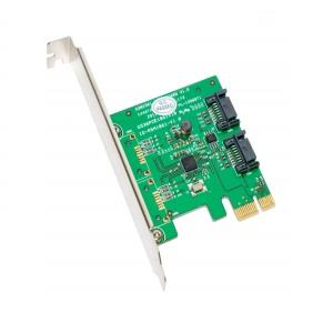 SYBA (I/O Crest) SATA III 2 Internal 6Gbps Ports PCI-e Controller Card (SY-PEX40039)