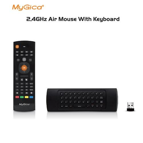 MyGica KR301 2 4GHz Air Mouse with Keyboard - Works with Any Android