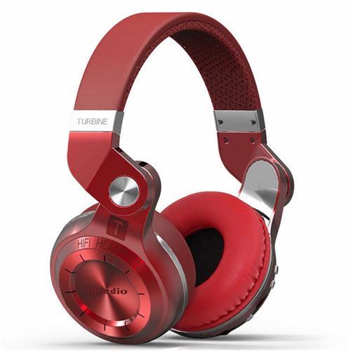 Bluedio T2+ Wireless Bluetooth 4.1 Stereo Headphone Red