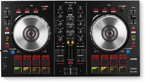 Pioneer DJ DDJ-SB2 - Portable 2-Channel Controller for