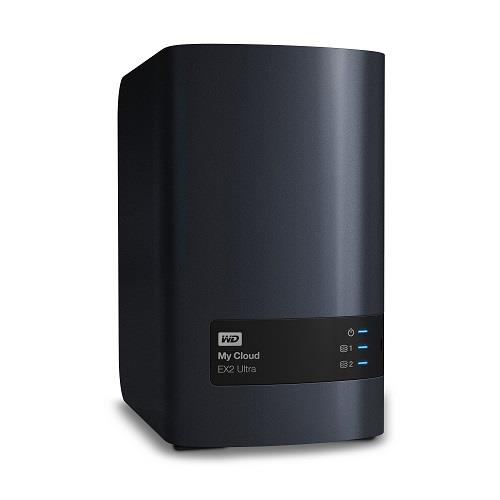 WD Network Attached Storage 4TB My Cloud EX2 Ultra 2-Bay Private