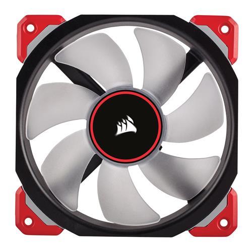 Corsair ML120 Pro LED, Red, 120mm Premium Magnetic Levitation Case Fan (CO-9050042-WW)
